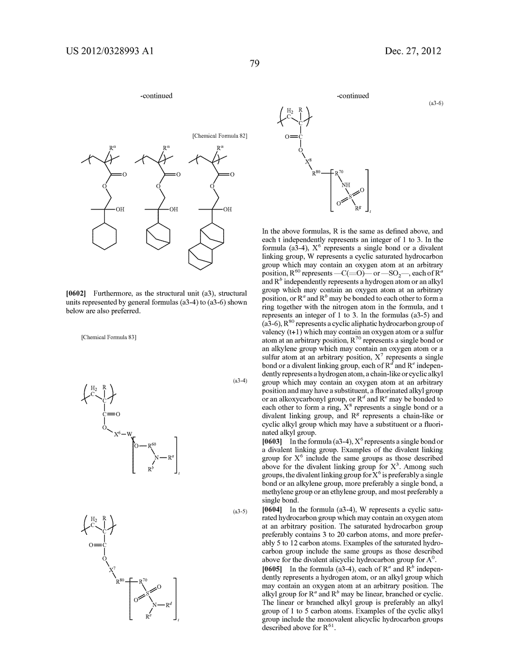 METHOD OF PRODUCING POLYMERIC COMPOUND, RESIST COMPOSITION, AND METHOD OF     FORMING RESIST PATTERN - diagram, schematic, and image 80