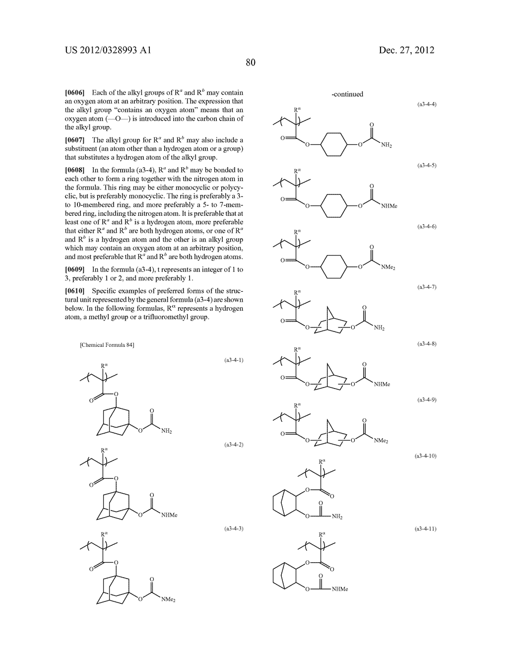 METHOD OF PRODUCING POLYMERIC COMPOUND, RESIST COMPOSITION, AND METHOD OF     FORMING RESIST PATTERN - diagram, schematic, and image 81