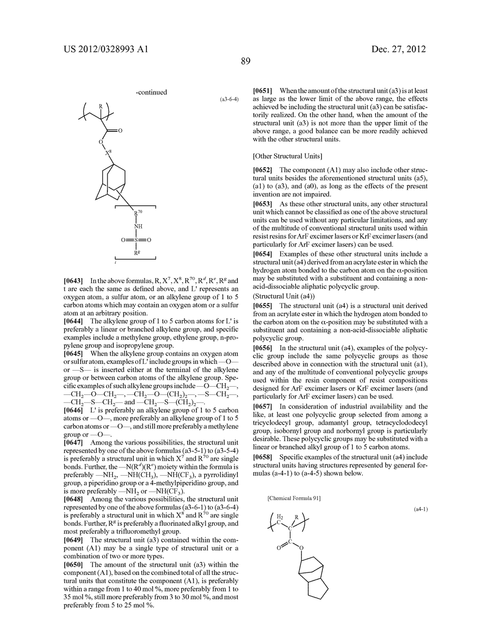 METHOD OF PRODUCING POLYMERIC COMPOUND, RESIST COMPOSITION, AND METHOD OF     FORMING RESIST PATTERN - diagram, schematic, and image 90