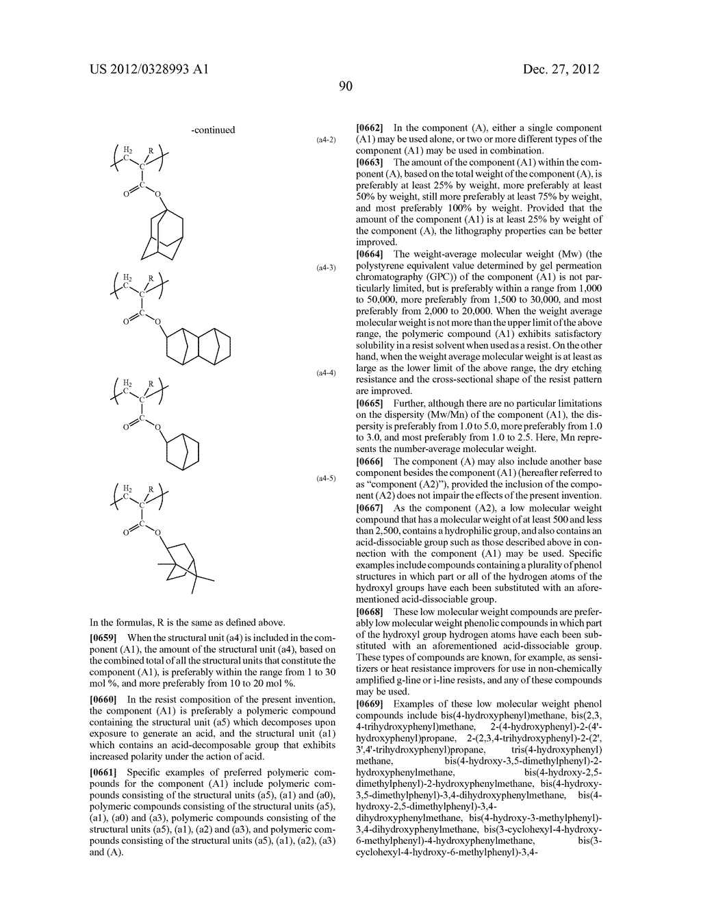 METHOD OF PRODUCING POLYMERIC COMPOUND, RESIST COMPOSITION, AND METHOD OF     FORMING RESIST PATTERN - diagram, schematic, and image 91