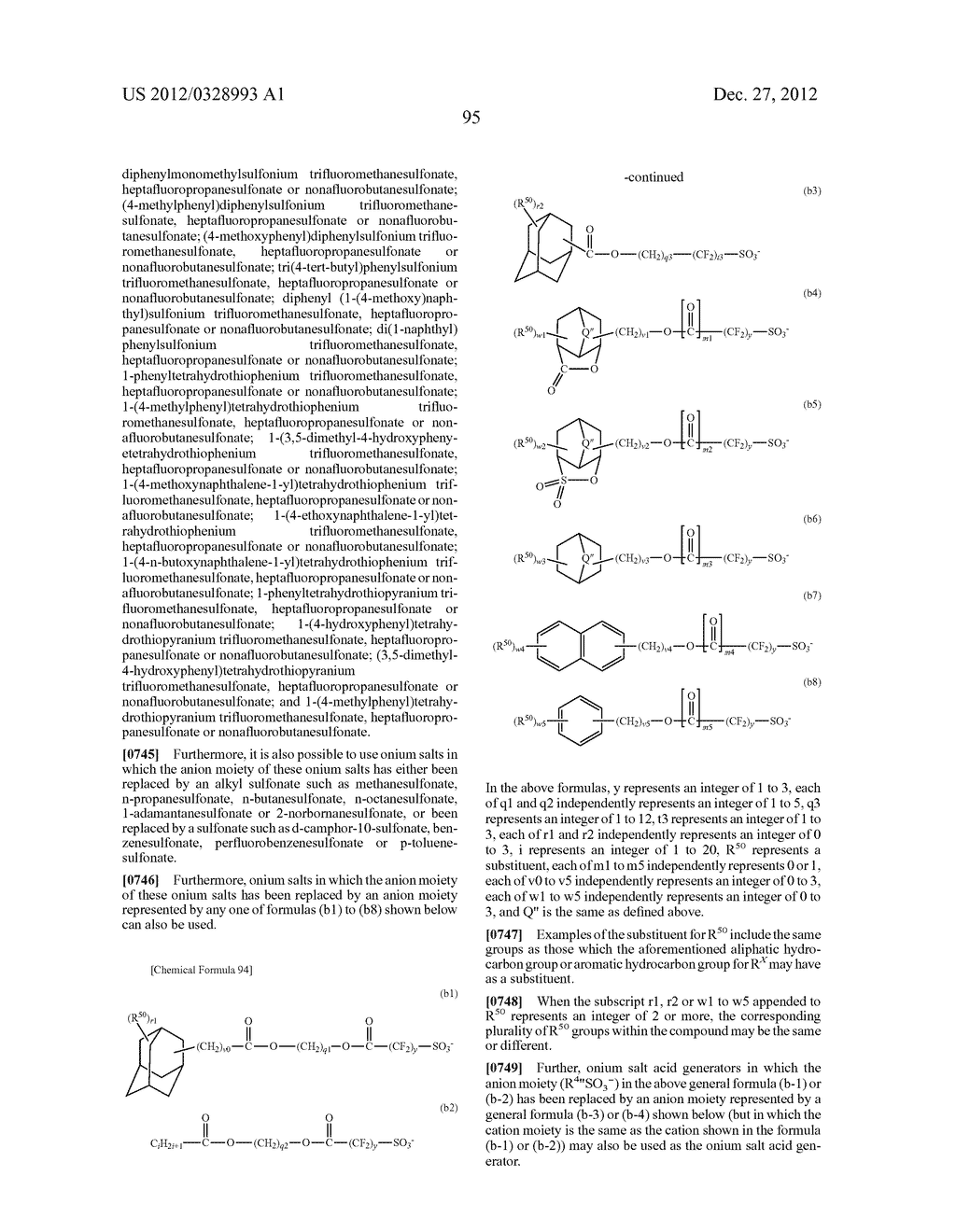METHOD OF PRODUCING POLYMERIC COMPOUND, RESIST COMPOSITION, AND METHOD OF     FORMING RESIST PATTERN - diagram, schematic, and image 96