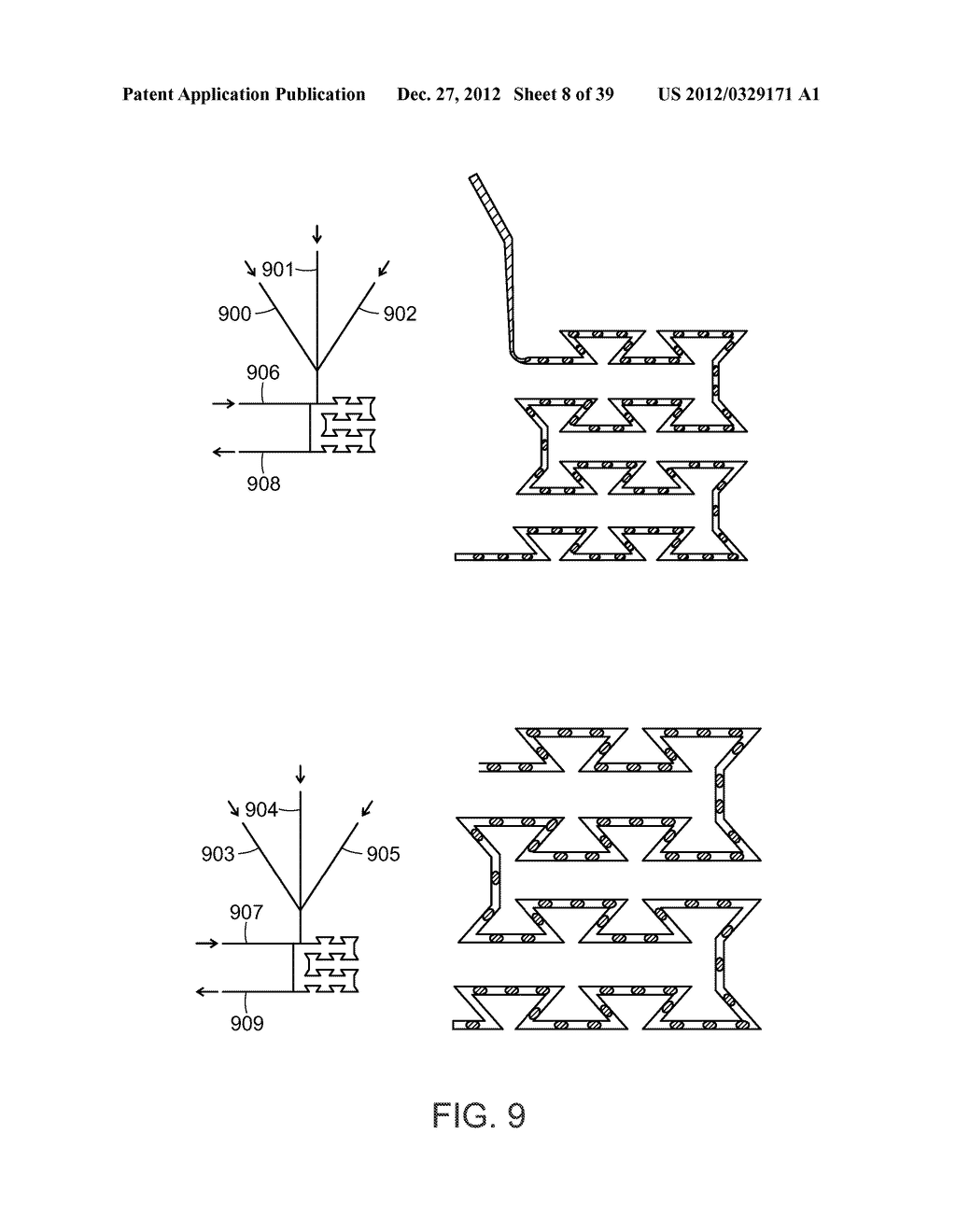 DEVICE AND METHOD FOR PRESSURE-DRIVEN PLUG TRANSPORT - diagram, schematic, and image 09