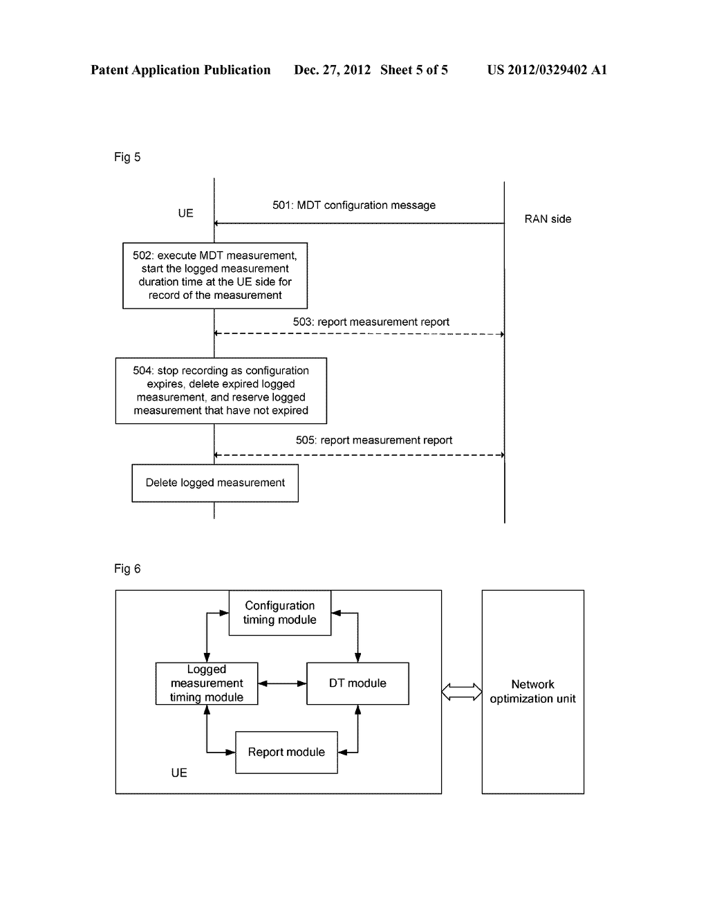 Method for controlling drive test logged measurement, drive test system     and user equipment - diagram, schematic, and image 06