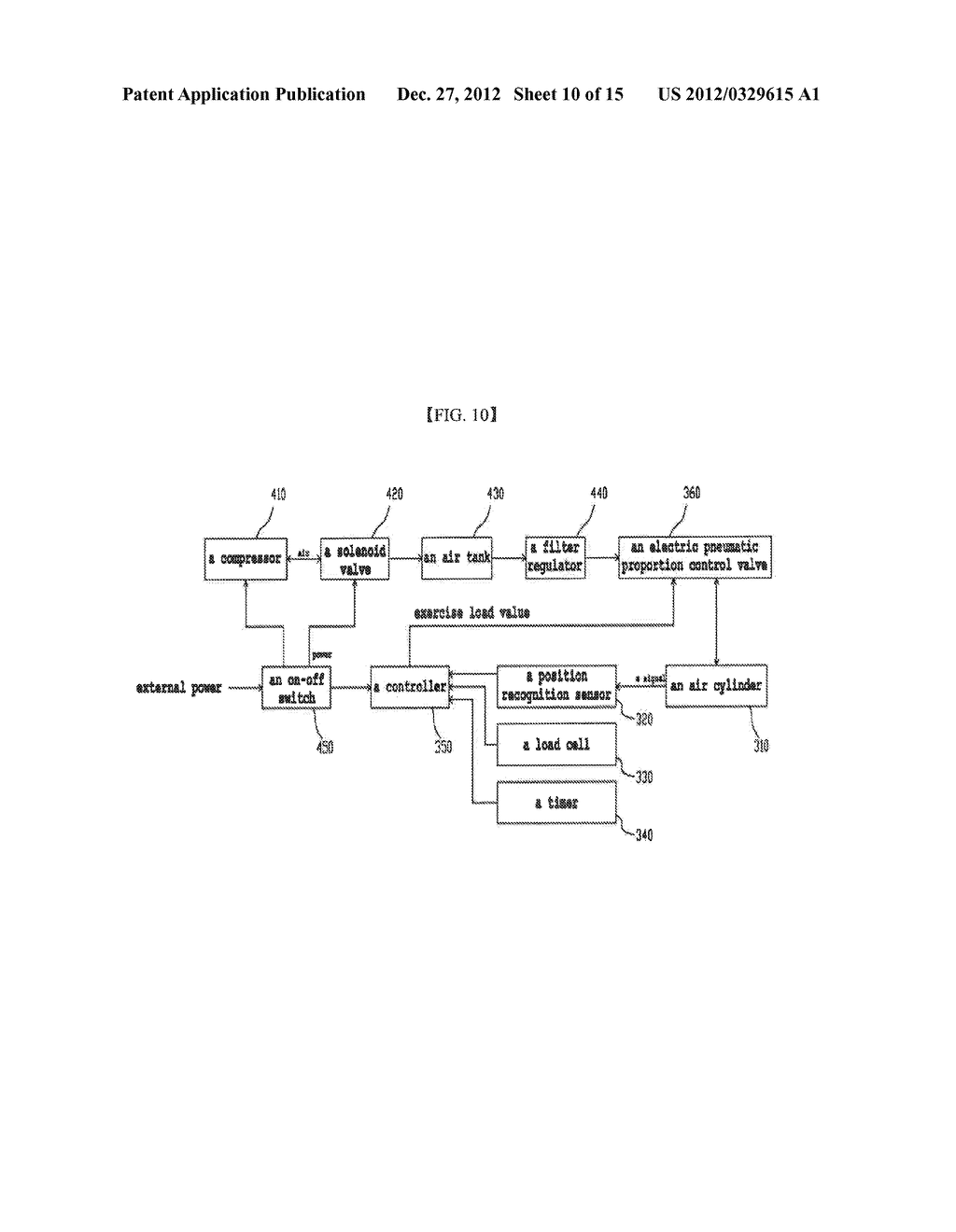 FITNESS DEVICE, EXERCISE MANAGEMENT SYSTEM USING SAME, AND METHOD FOR     MANAGING EXECISE - diagram, schematic, and image 11