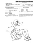 METHOD OF FABRICATING A SELF-RIGHTING CORE FITNESS BALL AND CORE FITNESS     BALL diagram and image