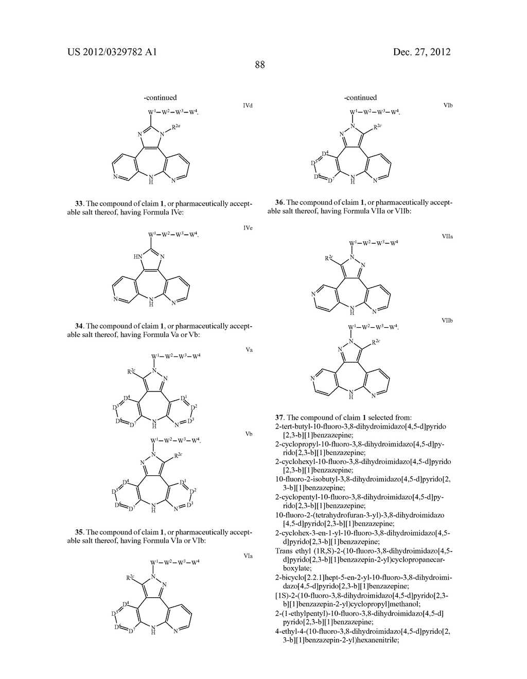 AZEPINE INHIBITORS OF JANUS KINASES - diagram, schematic, and image 89