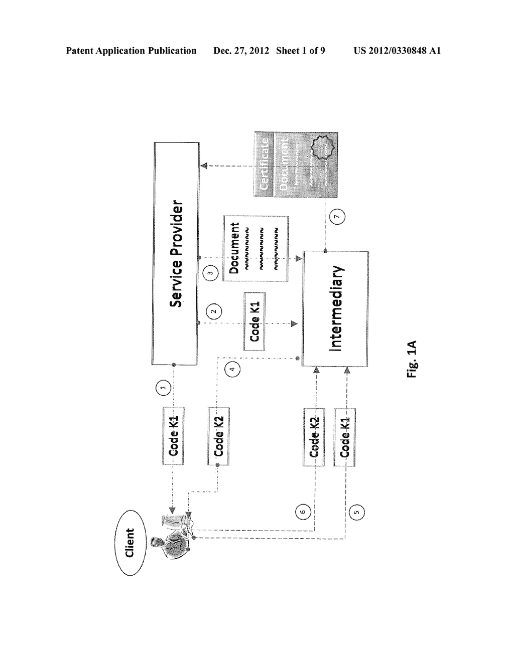 SYSTEM AND METHOD FOR ELECTRONIC CONTRACTING BETWEEN  REMOTE PARTIES - diagram, schematic, and image 02