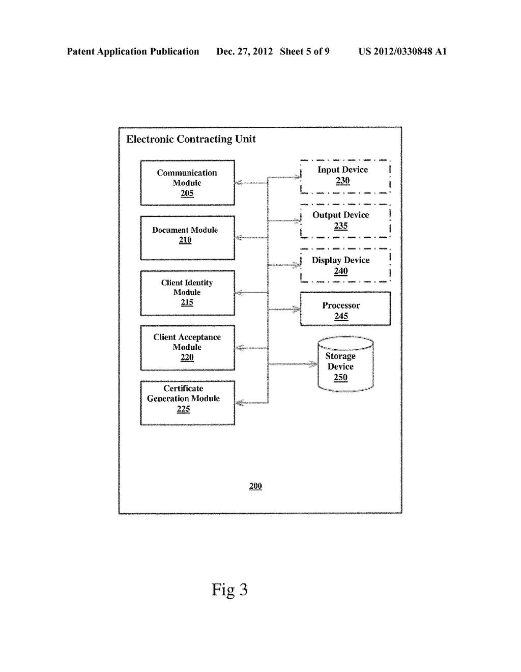SYSTEM AND METHOD FOR ELECTRONIC CONTRACTING BETWEEN  REMOTE PARTIES - diagram, schematic, and image 06