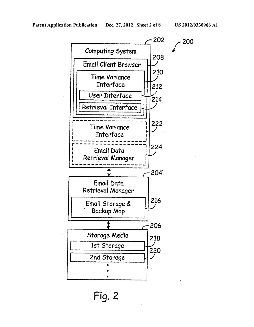 INTERFACE SYSTEMS AND METHODS FOR ACCESSING STORED DATA - diagram, schematic, and image 03