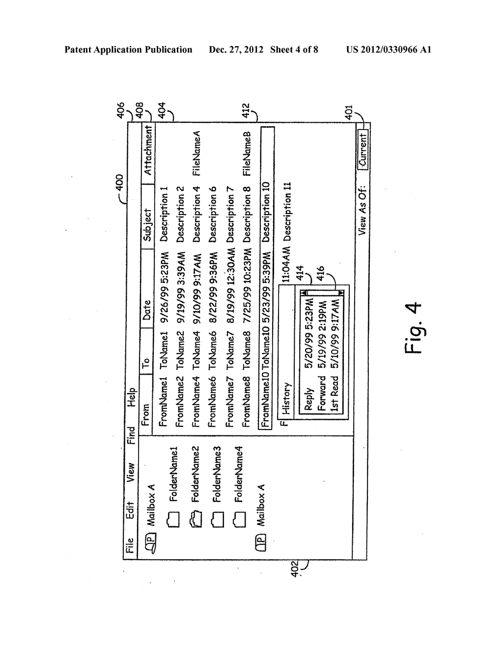 INTERFACE SYSTEMS AND METHODS FOR ACCESSING STORED DATA - diagram, schematic, and image 05
