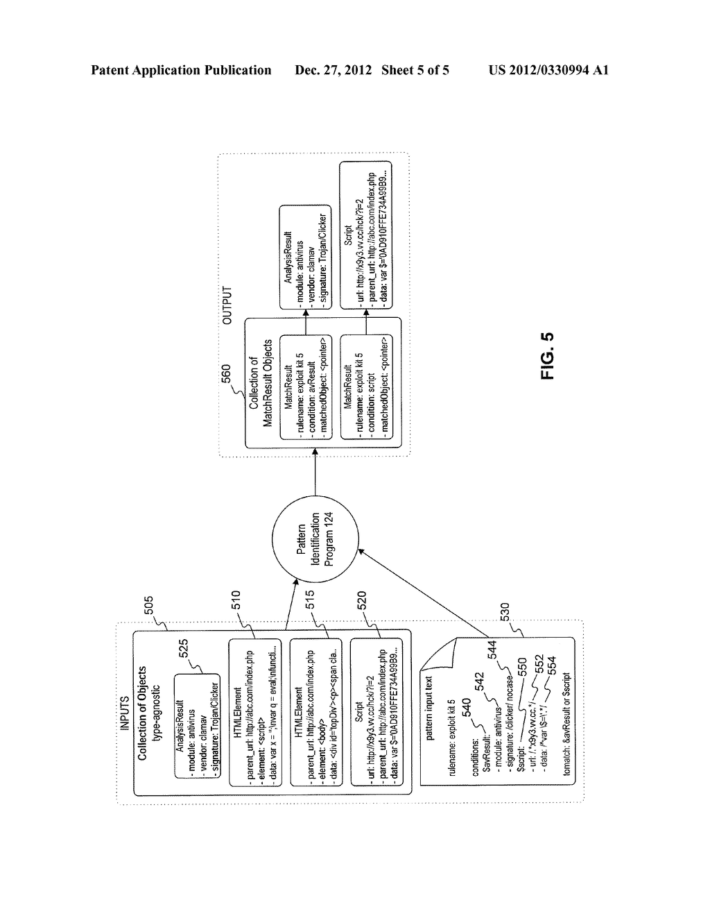 Systems and Methods for Inter-Object Pattern Matching - diagram, schematic, and image 06