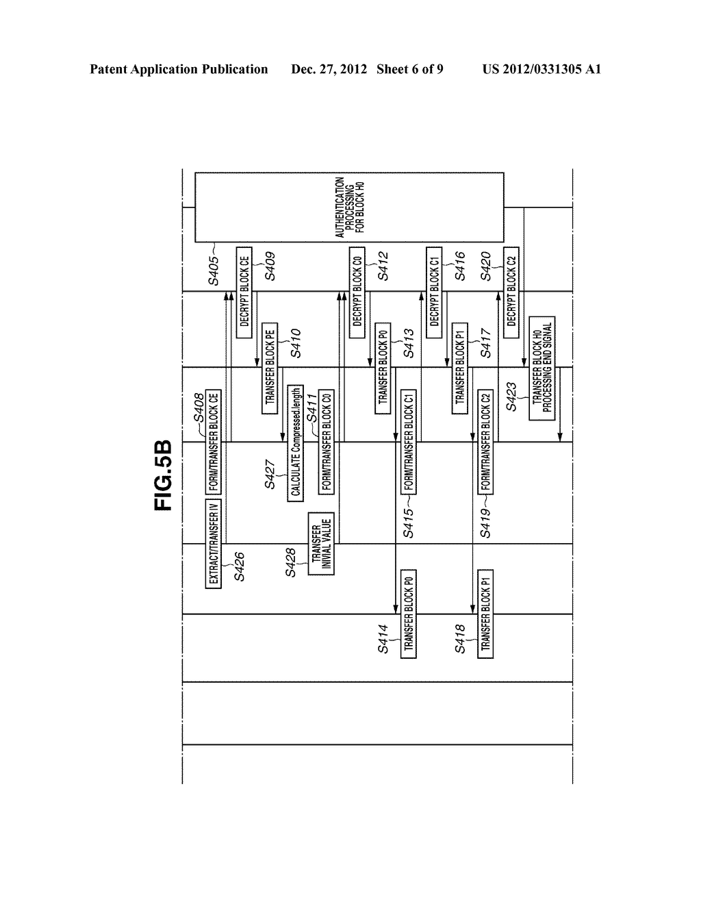 ENCRYPTION PROCESSING APPARATUS - diagram, schematic, and image 07