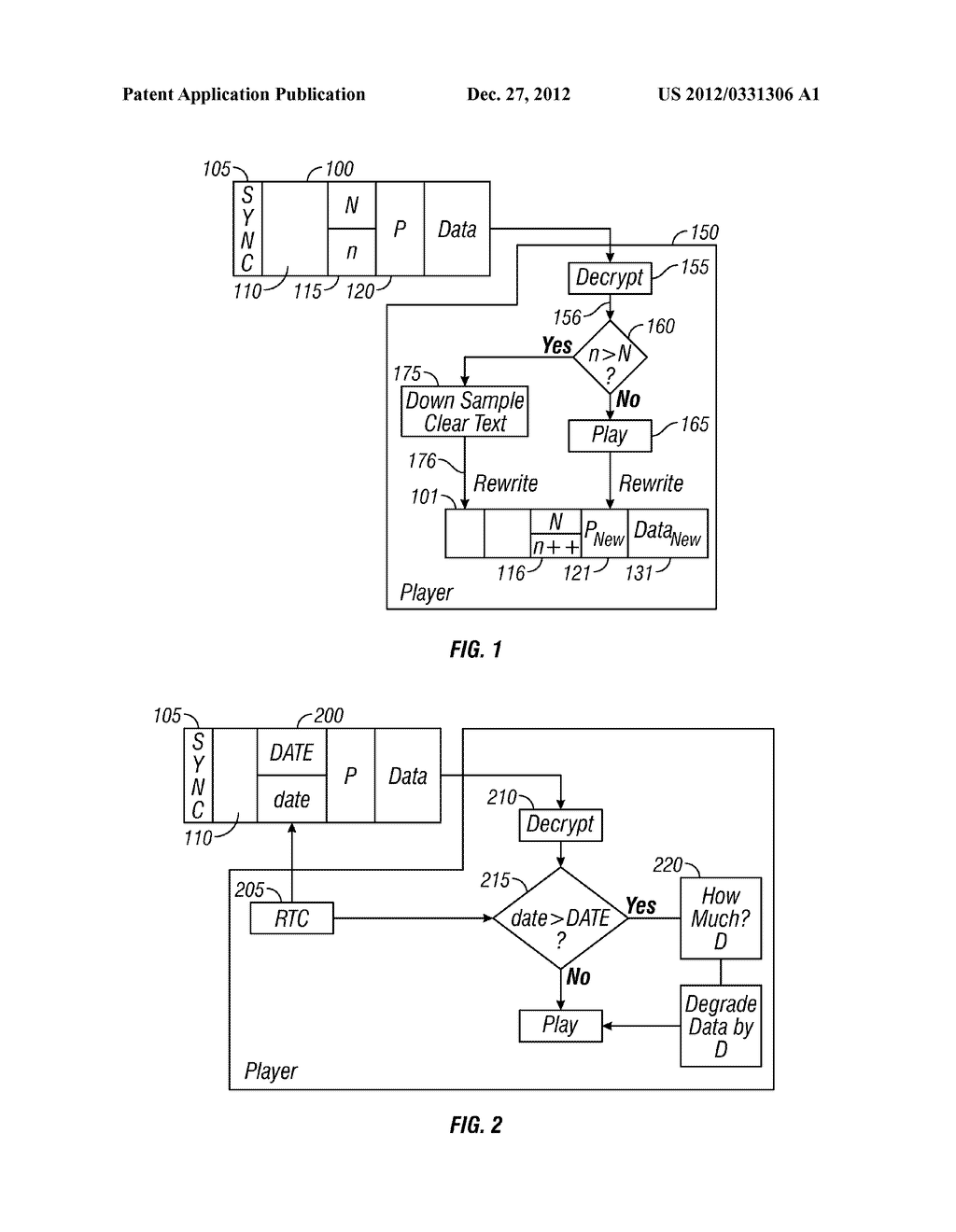 Adjustable resolution media format - diagram, schematic, and image 02