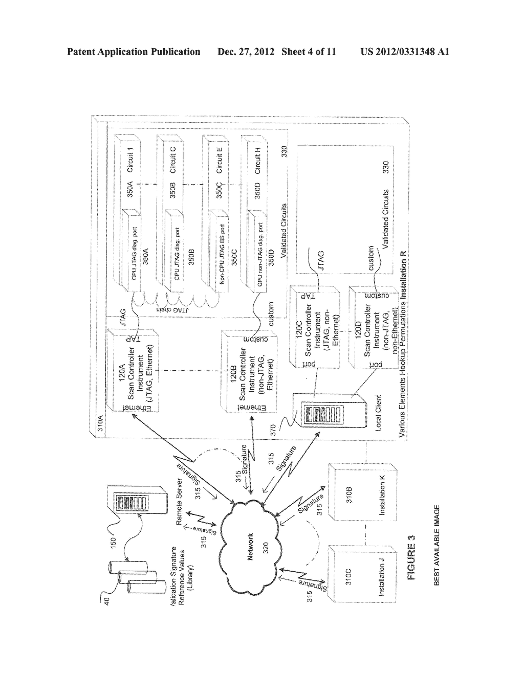 SYSTEMS AND METHODS OF IMPLEMENTING CONTENT VALIDATION OF MICROCOMPUTER     BASED CIRCUITS - diagram, schematic, and image 05