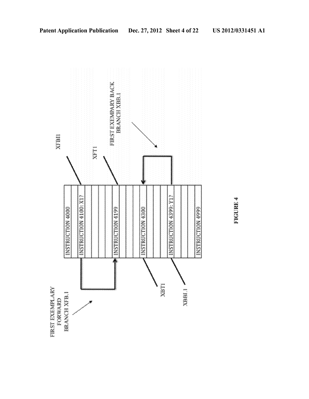 SYSTEM AND METHOD FOR COMPILING MACHINE-EXECUTABLE CODE GENERATED FROM A     SEQUENTIALLY ORDERED PLURALITY OF PROCESSOR INSTRUCTIONS - diagram, schematic, and image 05