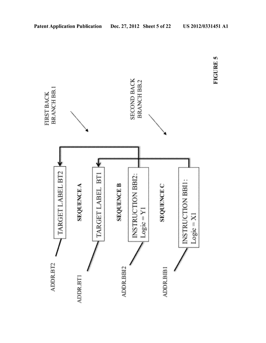 SYSTEM AND METHOD FOR COMPILING MACHINE-EXECUTABLE CODE GENERATED FROM A     SEQUENTIALLY ORDERED PLURALITY OF PROCESSOR INSTRUCTIONS - diagram, schematic, and image 06