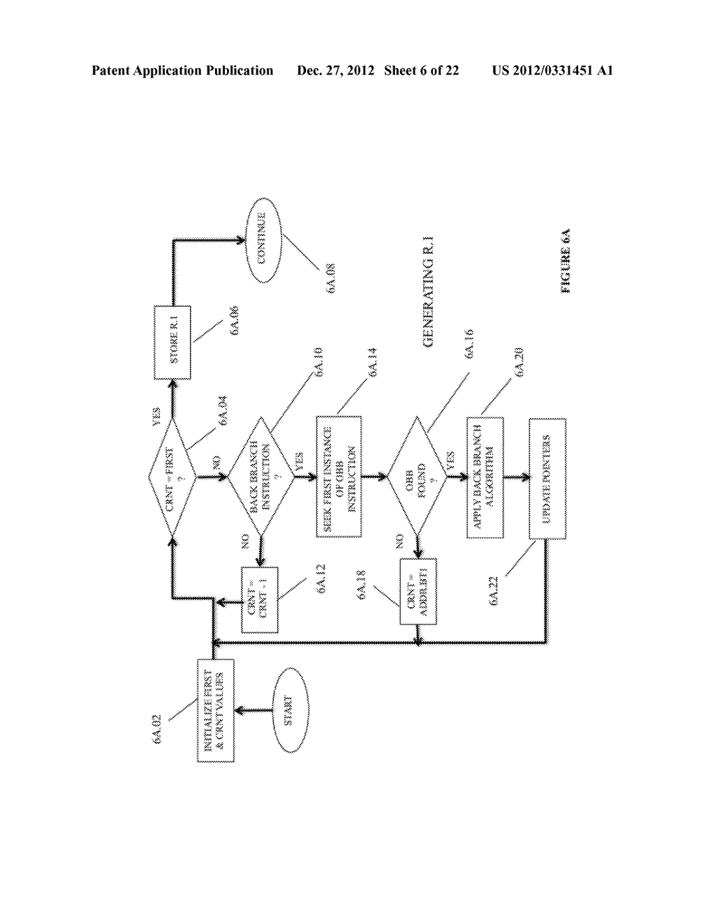 SYSTEM AND METHOD FOR COMPILING MACHINE-EXECUTABLE CODE GENERATED FROM A     SEQUENTIALLY ORDERED PLURALITY OF PROCESSOR INSTRUCTIONS - diagram, schematic, and image 07