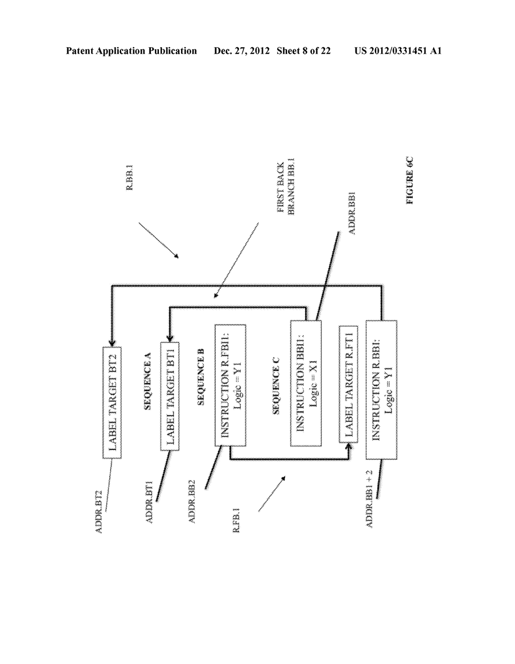SYSTEM AND METHOD FOR COMPILING MACHINE-EXECUTABLE CODE GENERATED FROM A     SEQUENTIALLY ORDERED PLURALITY OF PROCESSOR INSTRUCTIONS - diagram, schematic, and image 09