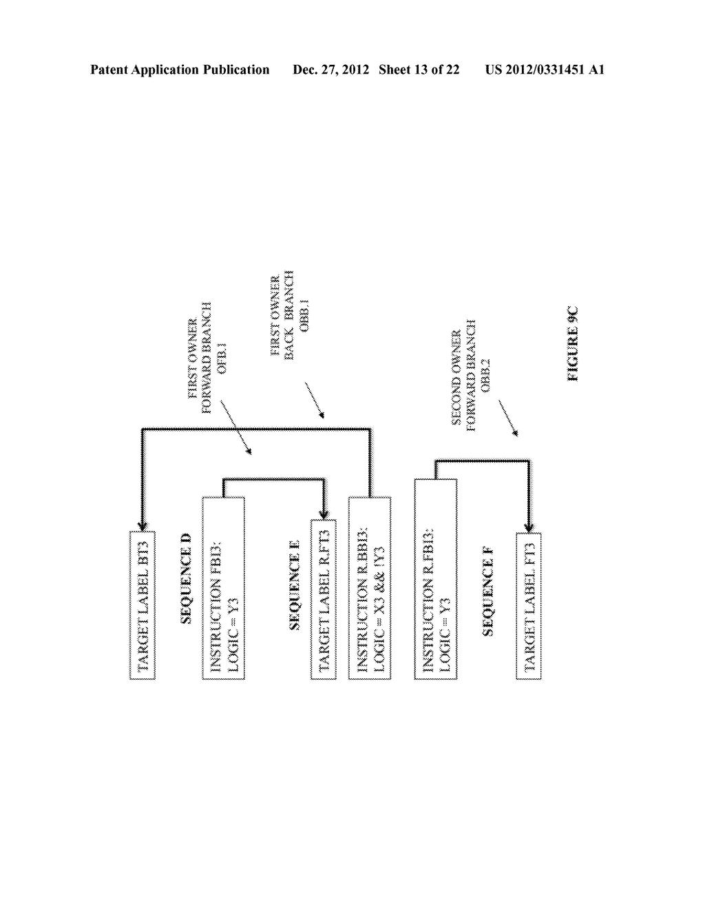 SYSTEM AND METHOD FOR COMPILING MACHINE-EXECUTABLE CODE GENERATED FROM A     SEQUENTIALLY ORDERED PLURALITY OF PROCESSOR INSTRUCTIONS - diagram, schematic, and image 14