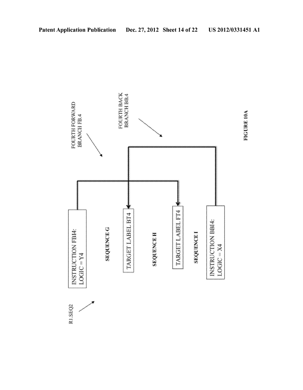 SYSTEM AND METHOD FOR COMPILING MACHINE-EXECUTABLE CODE GENERATED FROM A     SEQUENTIALLY ORDERED PLURALITY OF PROCESSOR INSTRUCTIONS - diagram, schematic, and image 15