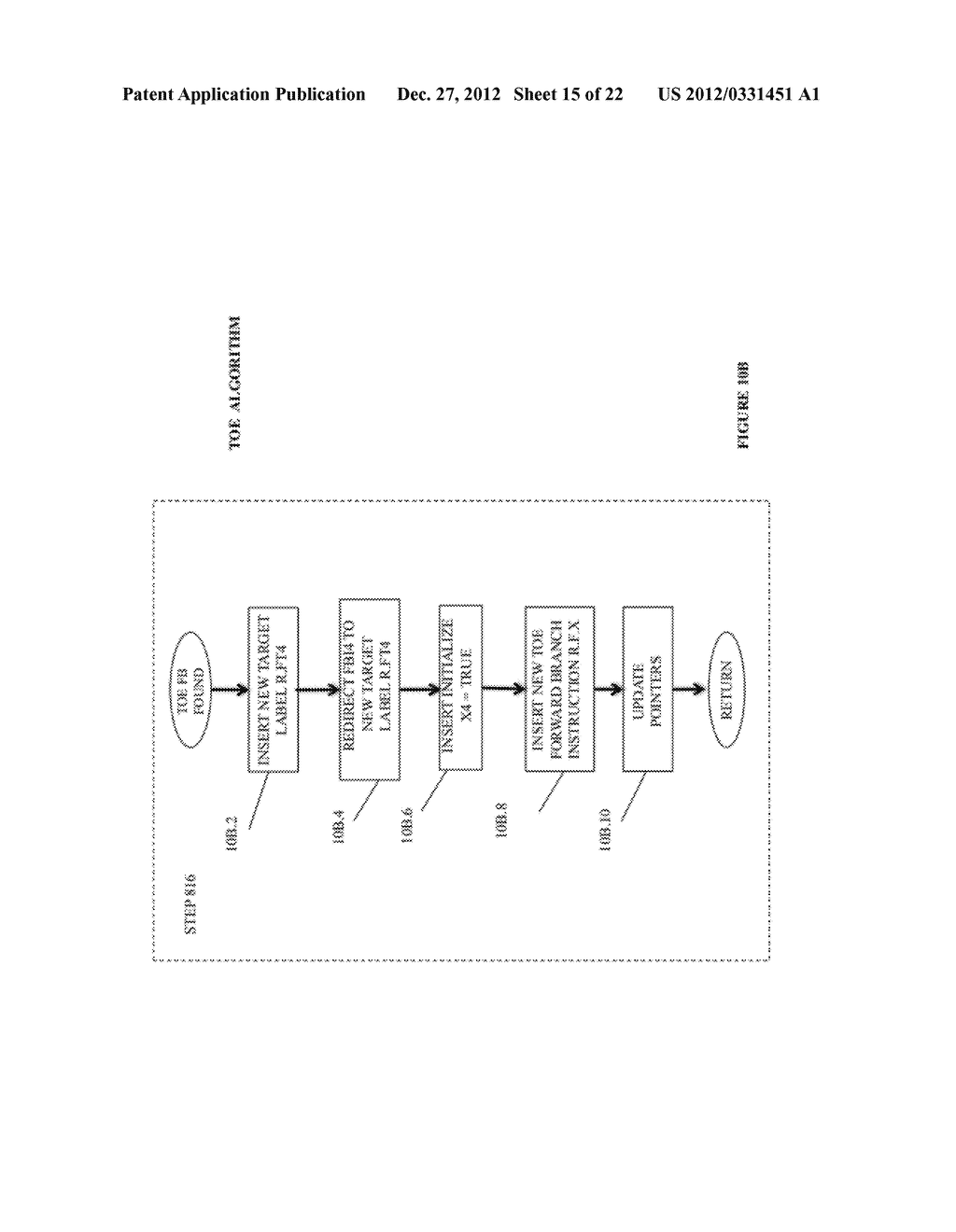 SYSTEM AND METHOD FOR COMPILING MACHINE-EXECUTABLE CODE GENERATED FROM A     SEQUENTIALLY ORDERED PLURALITY OF PROCESSOR INSTRUCTIONS - diagram, schematic, and image 16