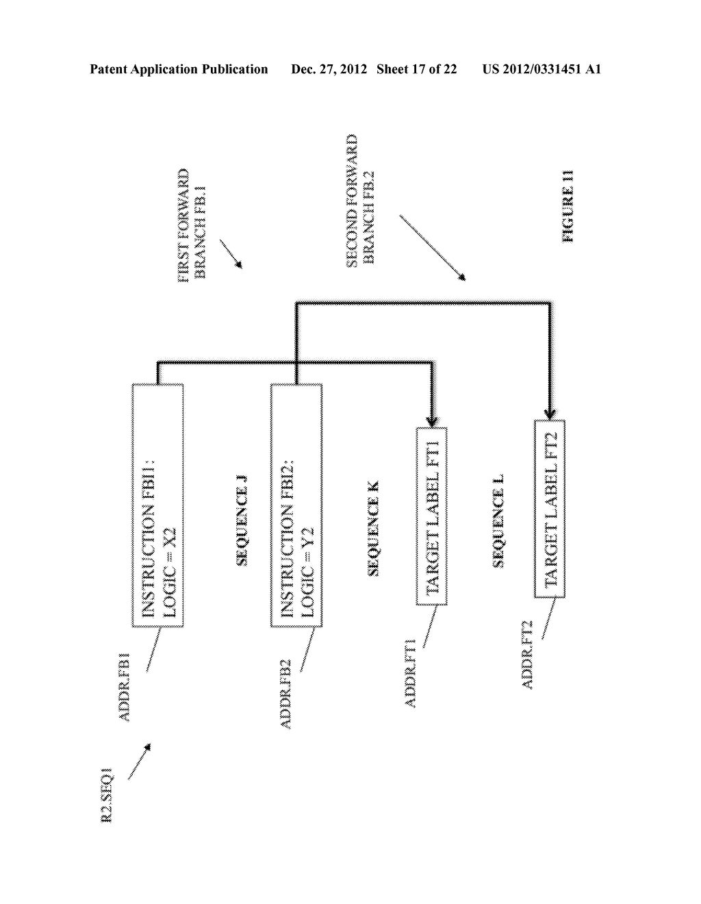 SYSTEM AND METHOD FOR COMPILING MACHINE-EXECUTABLE CODE GENERATED FROM A     SEQUENTIALLY ORDERED PLURALITY OF PROCESSOR INSTRUCTIONS - diagram, schematic, and image 18
