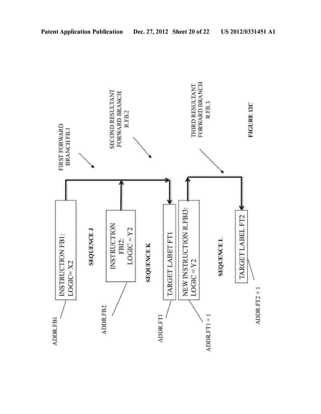 SYSTEM AND METHOD FOR COMPILING MACHINE-EXECUTABLE CODE GENERATED FROM A     SEQUENTIALLY ORDERED PLURALITY OF PROCESSOR INSTRUCTIONS - diagram, schematic, and image 21