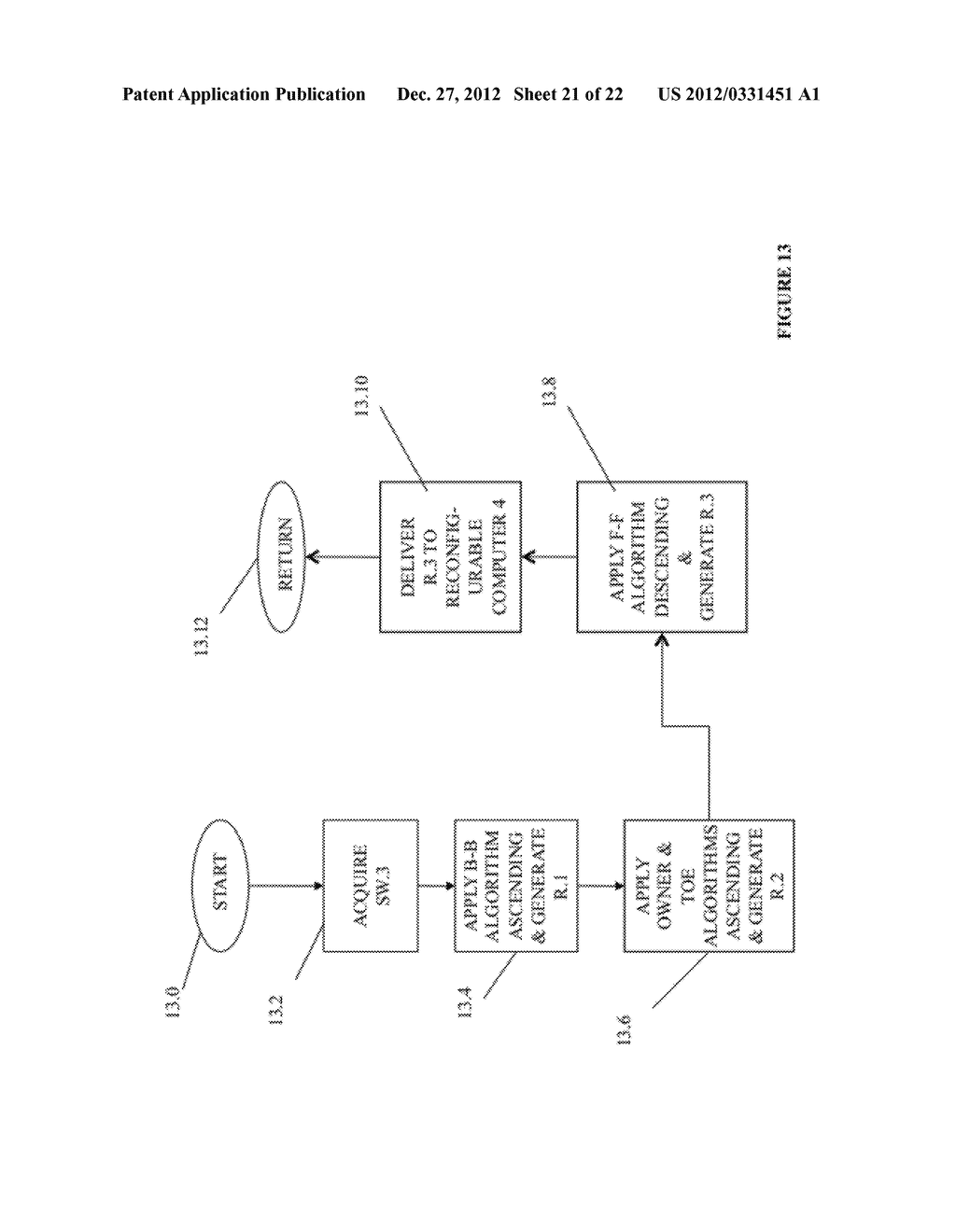 SYSTEM AND METHOD FOR COMPILING MACHINE-EXECUTABLE CODE GENERATED FROM A     SEQUENTIALLY ORDERED PLURALITY OF PROCESSOR INSTRUCTIONS - diagram, schematic, and image 22