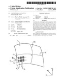 CURVED MODULE CONTAINING PHOTOVOLTAIC CELLS diagram and image