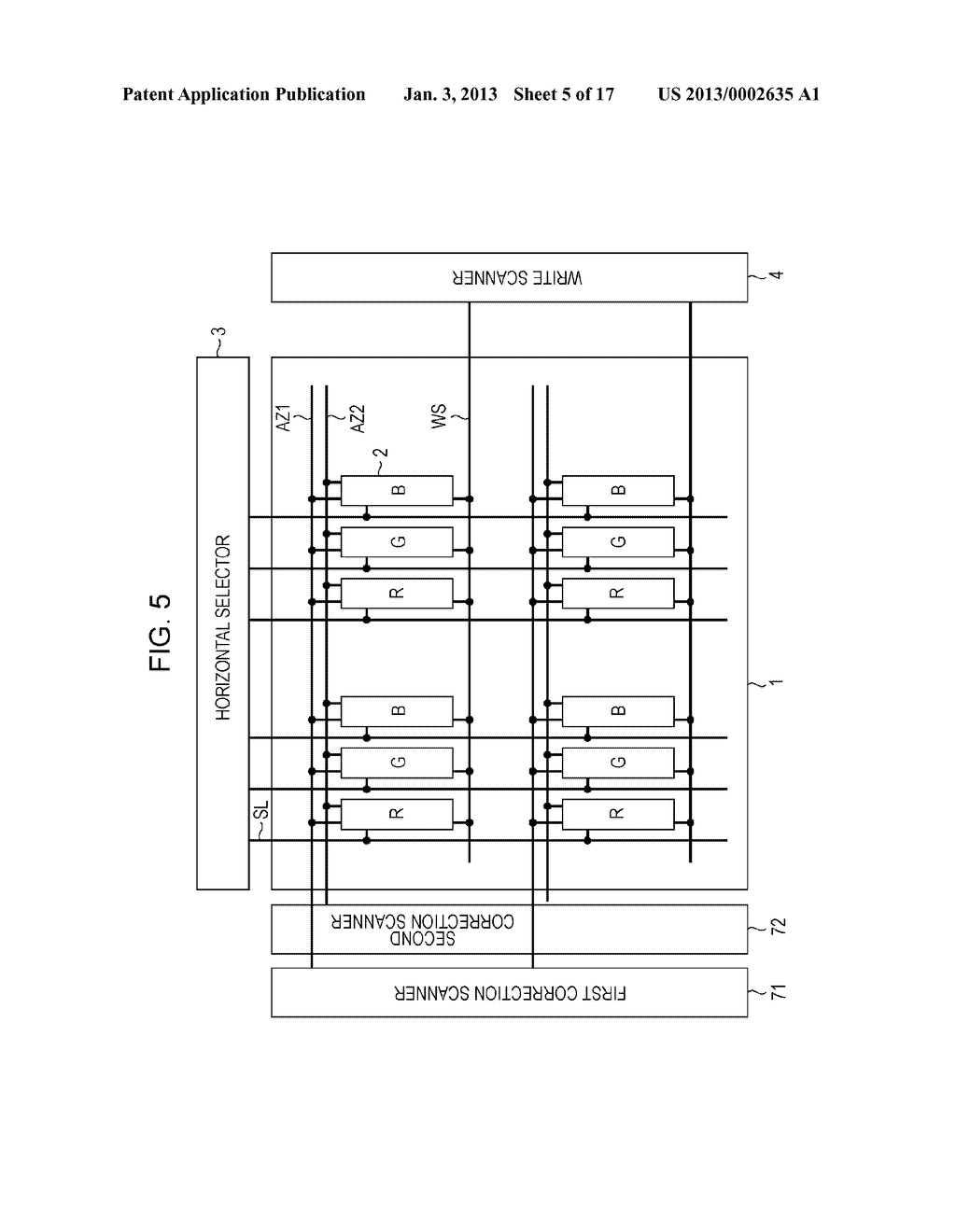 DISPLAY DEVICE, DISPLAY DEVICE DRIVING METHOD, AND ELECTRONIC APPARATUS - diagram, schematic, and image 06