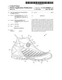 CYCLING SHOE WITH COVER HAVING CLOSURE ACCESS diagram and image