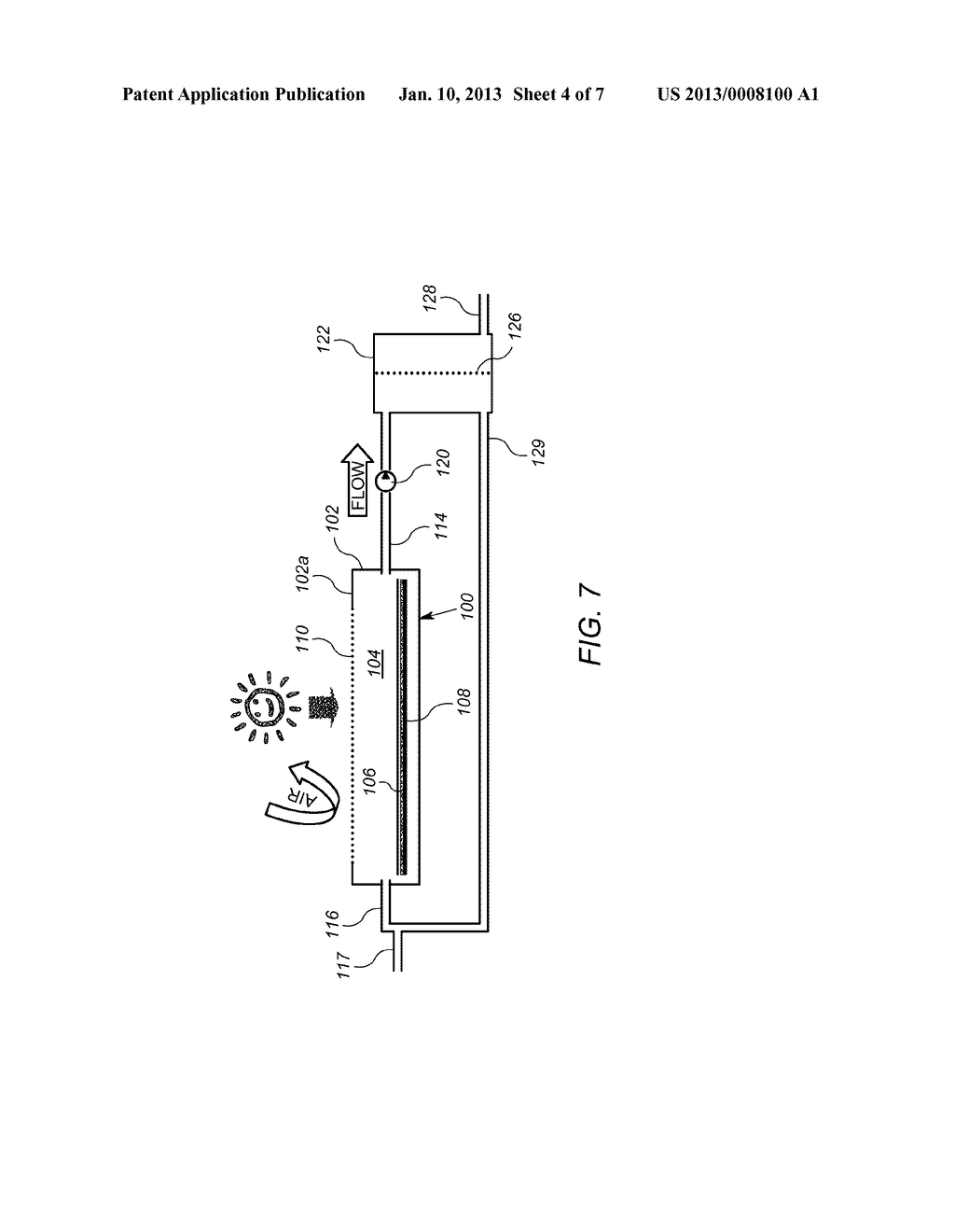 Photocatalytic Panel and System for Recovering Output Products Thereof - diagram, schematic, and image 05