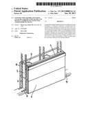 CONSTRUCTION ASSEMBLY INCLUDING STACKABLE SUBSTRUCTURE FRAMES AND DISTINCT     COMBINED TIE CONNECTION AND REINFORCING MEANS diagram and image