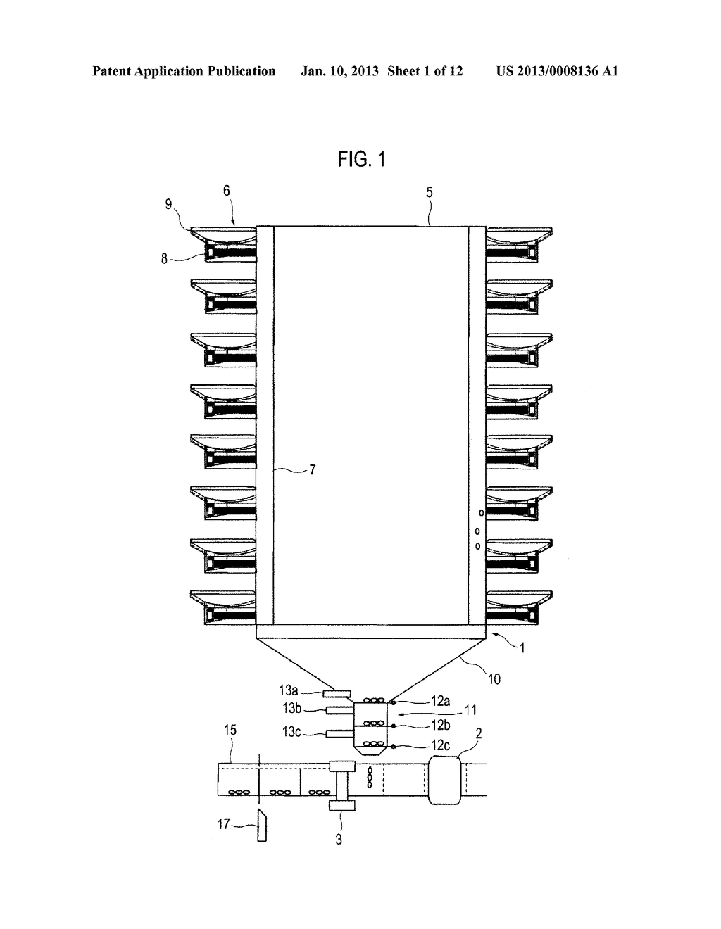 MEDICINE PACKAGING APPARATUS AND METHOD OF PACKAGING MEDICINE - diagram, schematic, and image 02