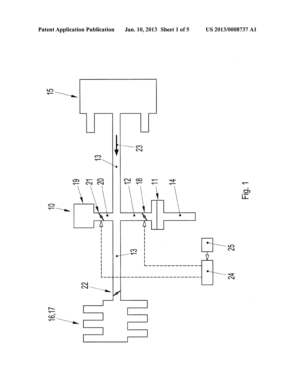 CONTROL DEVICE OF A MOTOR VEHICLE - diagram, schematic, and image 02