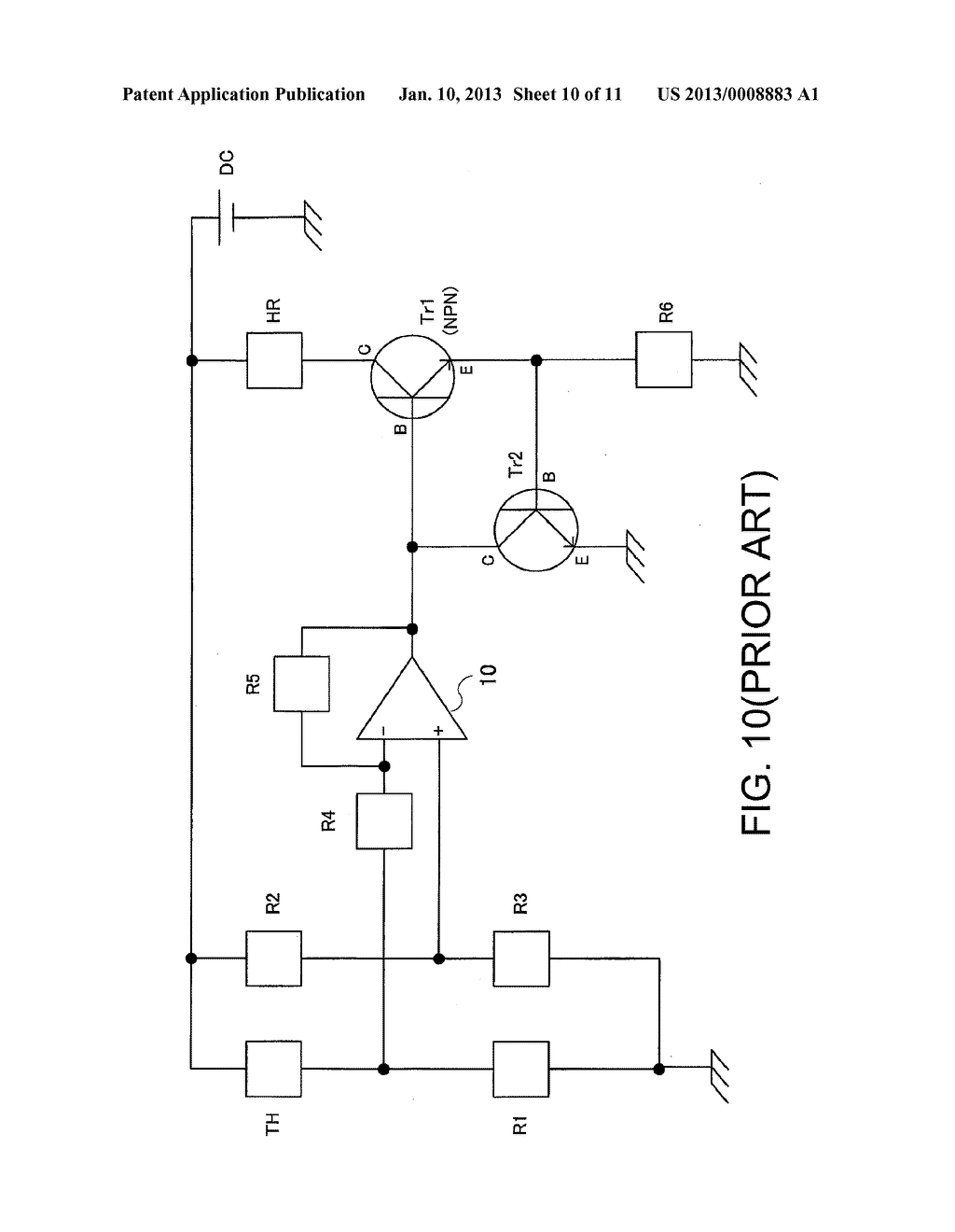 Temperature Control Circuit Of Oven Controlled Crystal Oscillator Schematic Diagram And Image 11