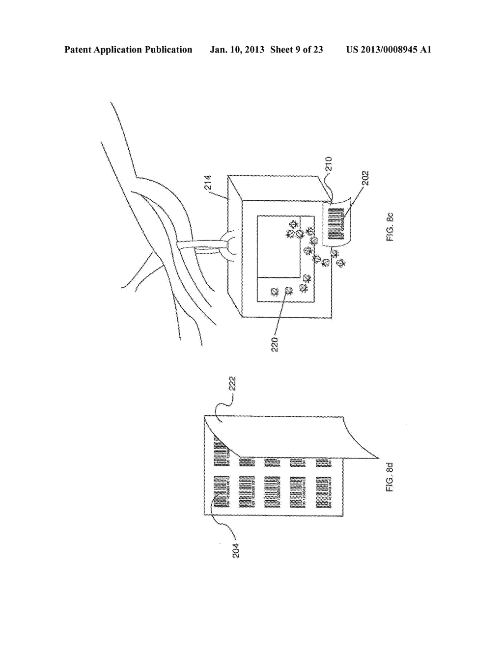 METHOD AND APPARATUS FOR RECORDING AND REPORTING AGRICULTURAL INFORMATION     USING A COMBINATION OF UNIVERSAL PRODUCT CODE AND LOT CODE - diagram, schematic, and image 10