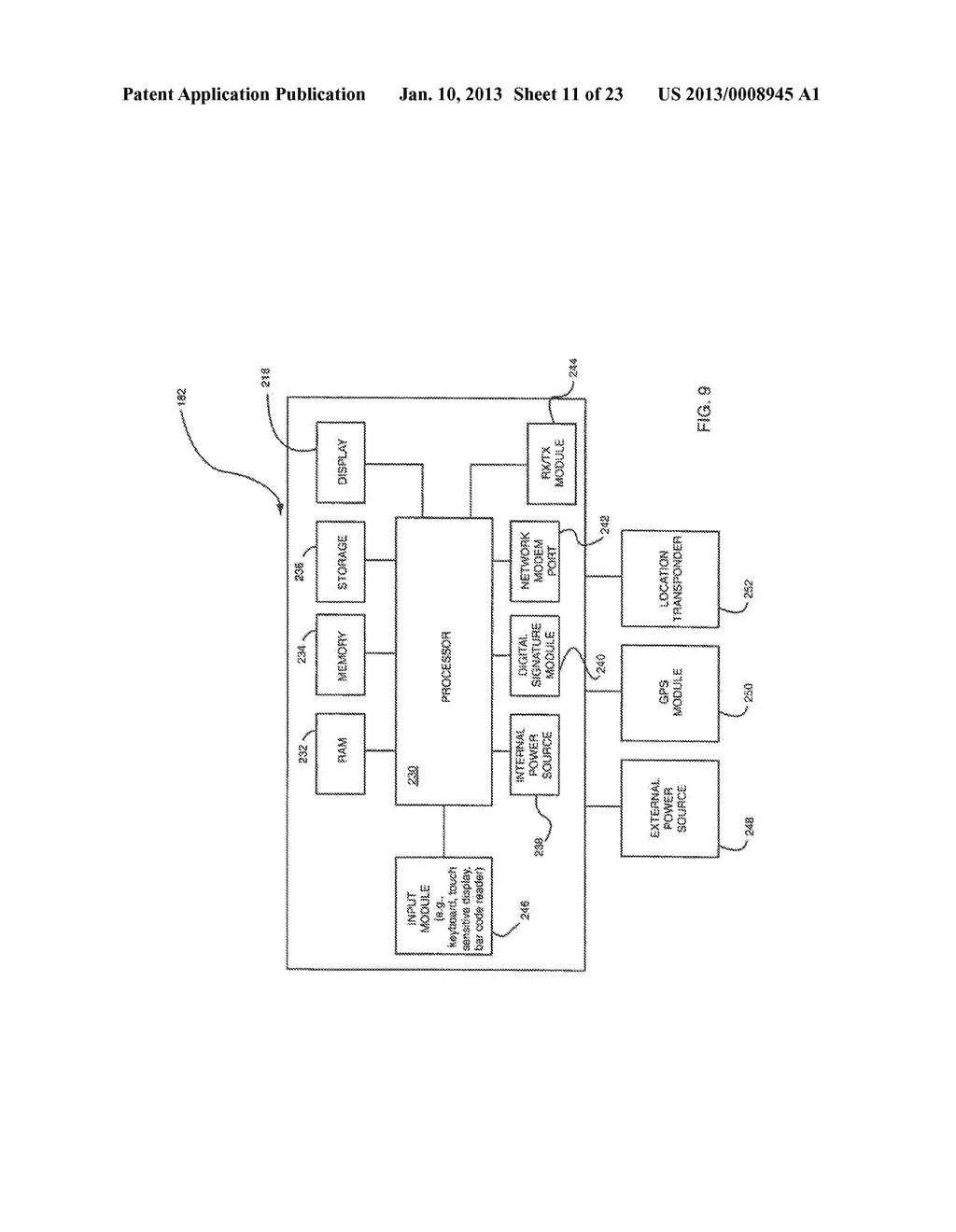 METHOD AND APPARATUS FOR RECORDING AND REPORTING AGRICULTURAL INFORMATION     USING A COMBINATION OF UNIVERSAL PRODUCT CODE AND LOT CODE - diagram, schematic, and image 12