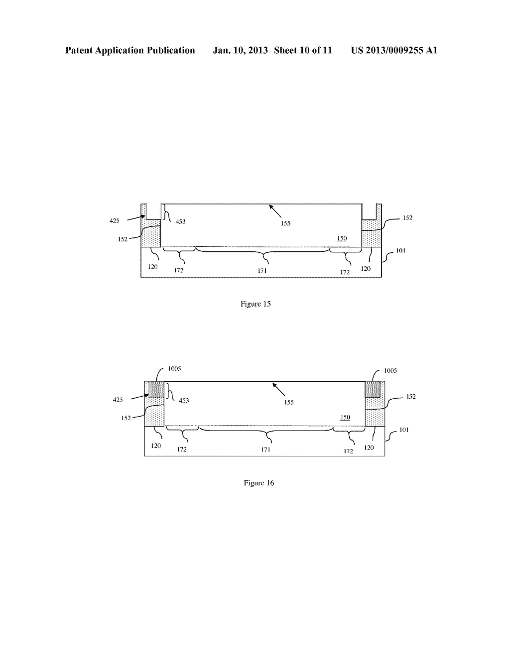 FIELD EFFECT TRANSISTOR WITH SUPPRESSED CORNER LEAKAGE THROUGH CHANNEL     MATERIAL BAND-EDGE MODULATION, DESIGN STRUCTURE AND METHOD - diagram, schematic, and image 11