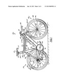 Bicycle Frame Assembly with Integral Fastener Passage diagram and image