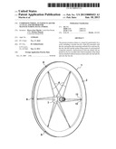 COMPOSITE WHEEL, IN PARTICULAR FOR A CYCLE, AND METHOD FOR MANUFACTURING     SUCH A WHEEL diagram and image