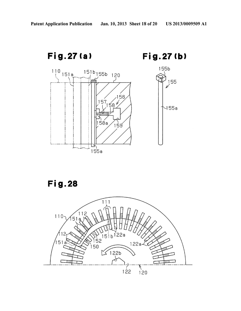 STATOR FOR ROTATING ELECTRICAL MACHINE, METHOD FOR MANUFACTURING STATOR,     AND METHOD FOR MANUFACTURING COIL FOR STATOR - diagram, schematic, and image 19