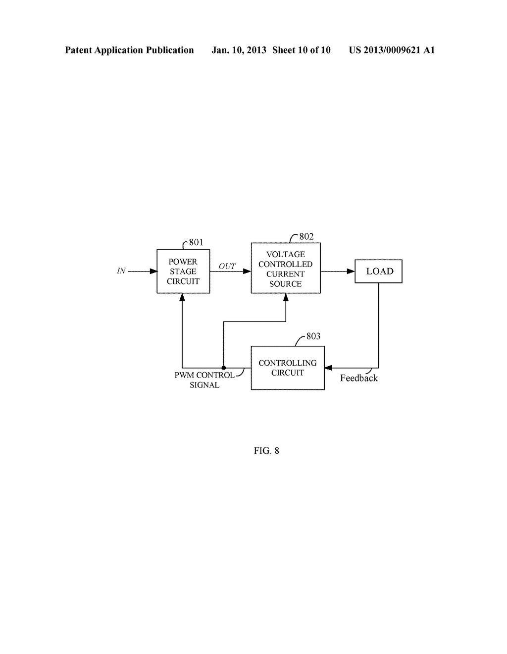 LOW OFFSET, FAST RESPONSE VOLTAGE CONTROLLED CURRENT SOURCE AND     CONTROLLING METHOD THEREOF - diagram, schematic, and image 11