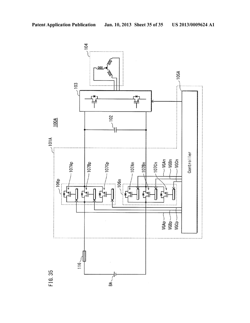 POWER SOURCE SWITCH DEVICE AND POWER SOURCE SYSTEM PROVIDED WITH SAME - diagram, schematic, and image 36