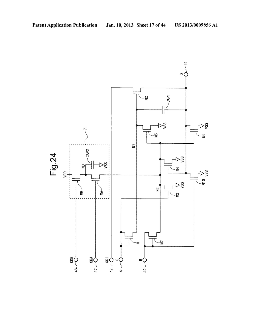 SCANNING SIGNAL LINE DRIVE CIRCUIT AND DISPLAY DEVICE HAVING THE SAME - diagram, schematic, and image 18