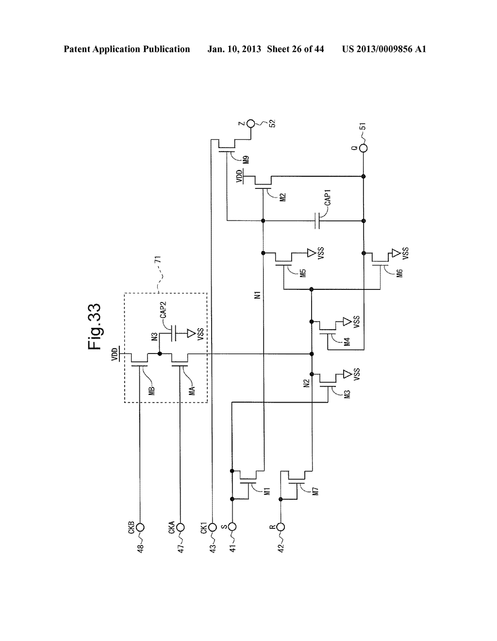 SCANNING SIGNAL LINE DRIVE CIRCUIT AND DISPLAY DEVICE HAVING THE SAME - diagram, schematic, and image 27