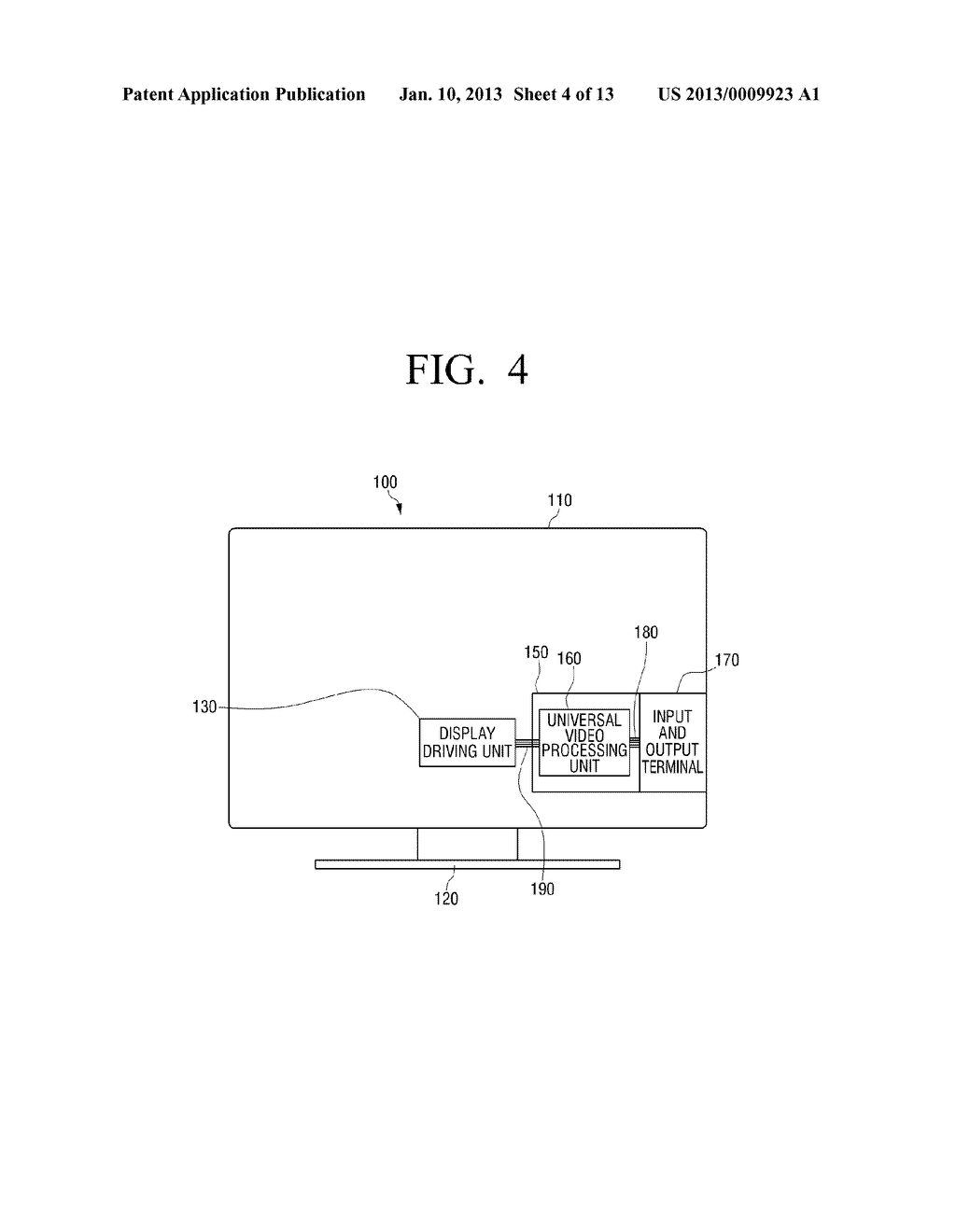 DISPLAY APPARATUS HAVING DISPLAY DRIVING UNIT ON LOWER PART - diagram, schematic, and image 05