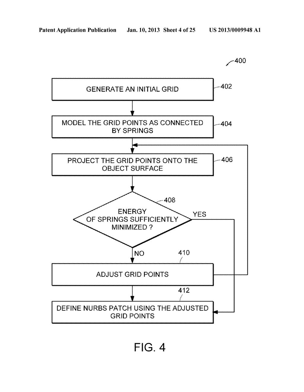 Apparatus and Methods for Wrapping Texture onto the Surface of a Virtual     Object - diagram, schematic, and image 05