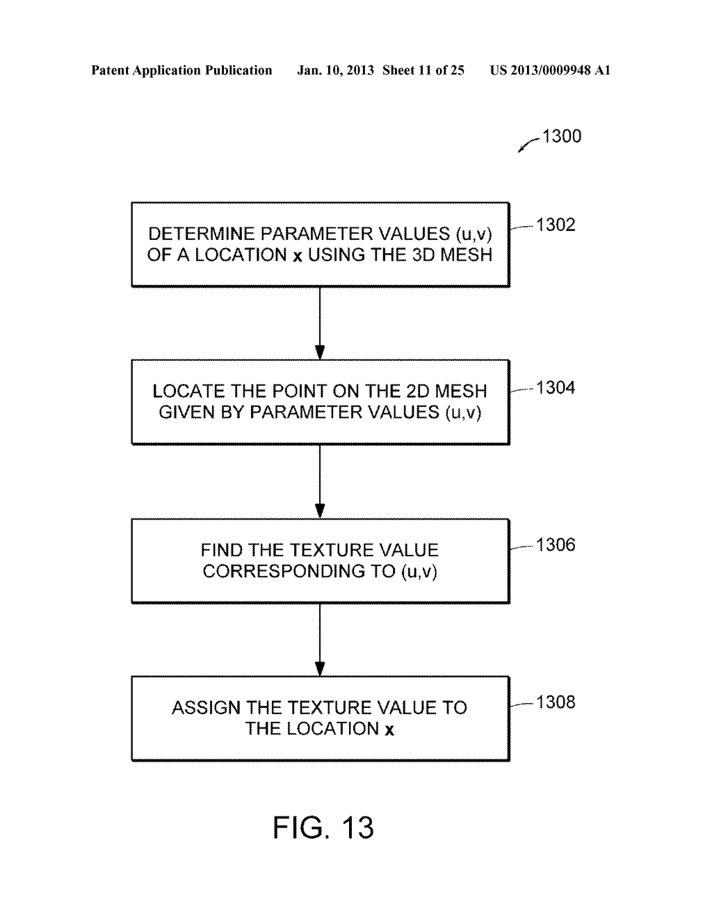 Apparatus and Methods for Wrapping Texture onto the Surface of a Virtual     Object - diagram, schematic, and image 12