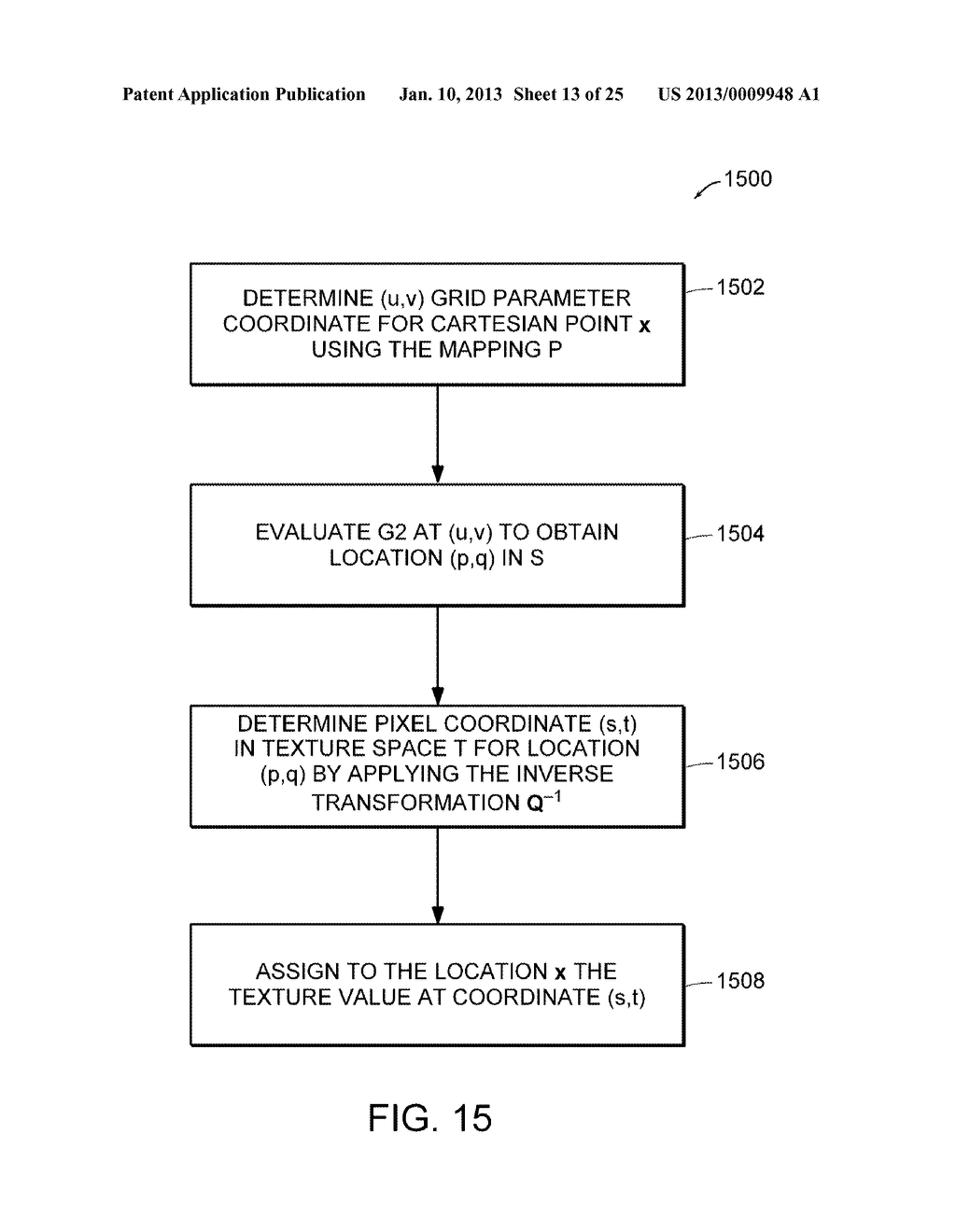 Apparatus and Methods for Wrapping Texture onto the Surface of a Virtual     Object - diagram, schematic, and image 14